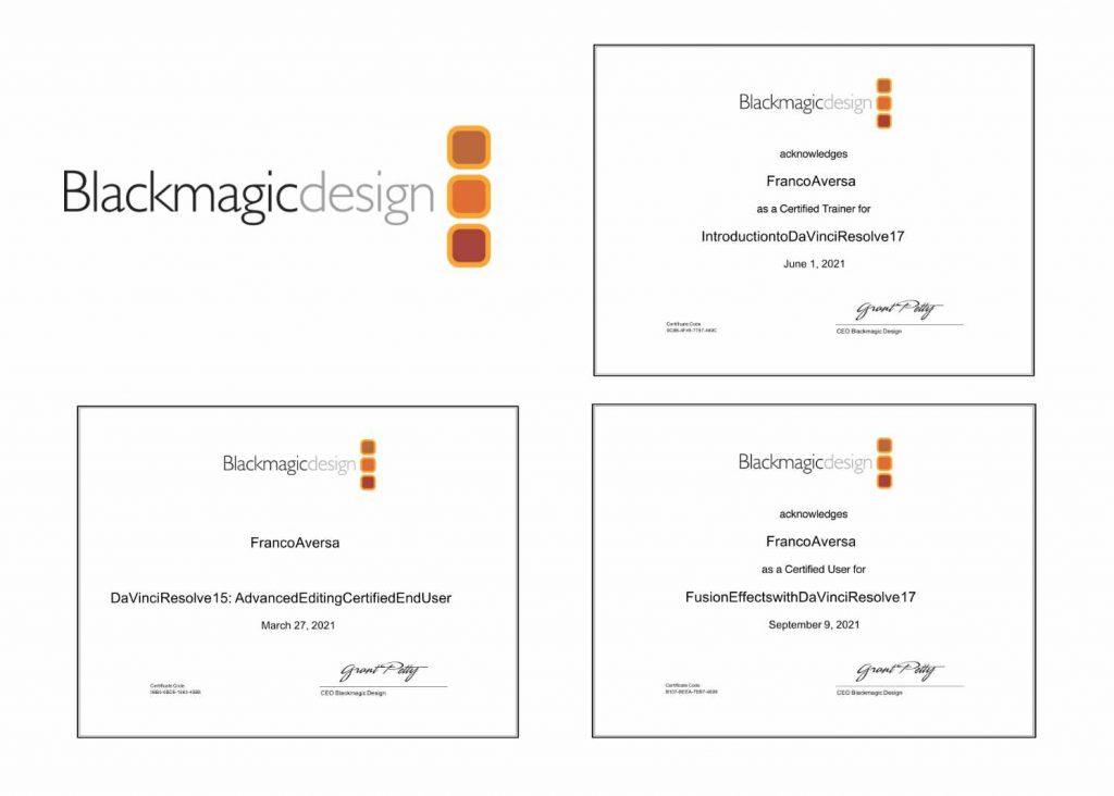 Blackmagic Design Davinci Resolve